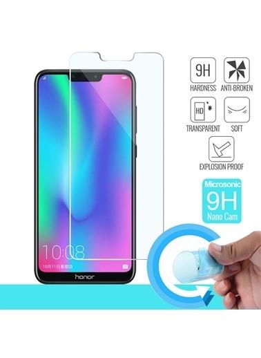 Microsonic Huawei Honor 8C Nano Cam Ekran koruyucu Renksiz